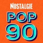 Logo da emissora Radio Nostalgie Pop 90