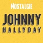 Logo da emissora Radio Nostalgie Johnny Hallyday