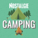 Logo da emissora Radio Nostalgie Camping