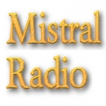 Logo da emissora Mistral Radio FM