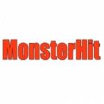 Logo da emissora Monsters Hits FM