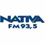 Logo da emissora Rádio Nativa 93.5 FM