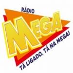 Logo da emissora Super Rádio Mega