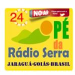 Logo da emissora Rádio Pé da Serra