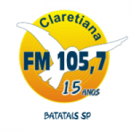 Logo da emissora Rádio Claretiana 105.7 FM