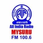 Logo da emissora Air Mysuru 100.6 FM