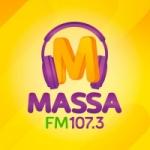 Logo da emissora Rádio Massa 107.3 FM