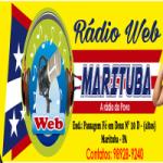 Logo da emissora Rádio Web Marituba