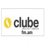 Logo da emissora Rádio Clube 101.5 FM