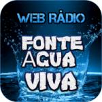 Logo da emissora Rádio Fonte Água Viva