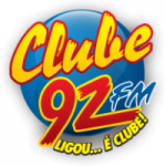 Logo da emissora Rádio Clube 92.1 FM