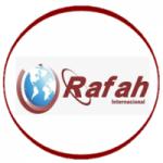 Logo da emissora Rádio Rafah Internacional