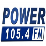 Logo da emissora Power 105.4 FM