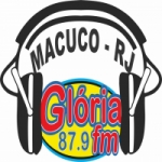 Logo da emissora Rádio Glória FM