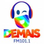 Logo da emissora Rádio Demais 101.1 FM