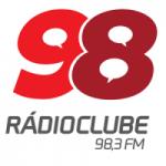 Logo da emissora Rádio Clube 98