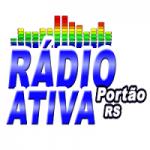Logo da emissora Rádio Ativa Portão-RS
