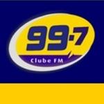 Logo da emissora Rádio Clube 99.7 FM