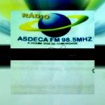 Logo da emissora Rádio Asdeca FM