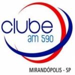 Logo da emissora Rádio Clube 590 AM
