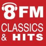 Logo da emissora Radio 8FM 93.9