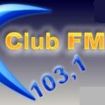 Logo da emissora Rádio Clube 103.1 FM