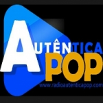Logo da emissora Rádio Autentica Pop