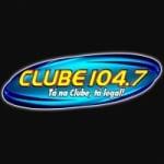 Logo da emissora Rádio Clube 104.7 FM