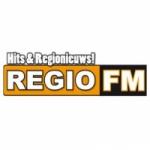 Logo da emissora Regio 107.5 FM