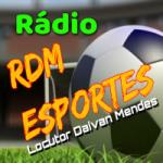 Logo da emissora Rádio RDM Esportes