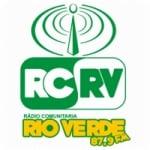Logo da emissora Rádio Rio Verde 87.9 FM