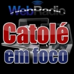 Logo da emissora Web Rádio Catolé Em Foco
