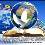 Logo da emissora Rádio Evangelizando As Nações