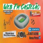 Logo da emissora Web FM Castelão