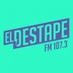 Logo da emissora Radio El Destape