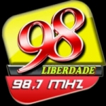Logo da emissora Rádio Liberdade FM