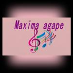Logo da emissora Rádio Agape FM