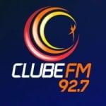 Logo da emissora Rádio Clube 92.7 FM