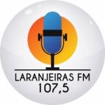 Logo da emissora Rádio Laranjeiras 107.5 FM