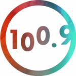 Logo da emissora La Vibe  FM 100.9 - Quebec