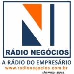 Logo da emissora Rádio Negócios