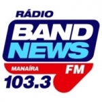 Logo da emissora Rádio BandNews 103.3 FM