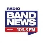 Logo da emissora Rádio BandNews Manaíra 103.3 FM