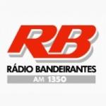Logo da emissora Rádio Clube Bandeirantes 1350 AM
