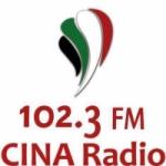 Logo da emissora Radio CINA 102.3 FM