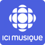 Logo da emissora ICI Musique CBFX 100.7 FM