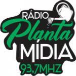 Logo da emissora Rádio Planta Mídia FM