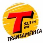 Logo da emissora Rádio Transamérica Hits 92.3 FM