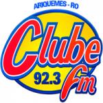 Logo da emissora Rádio Clube 92.3 FM