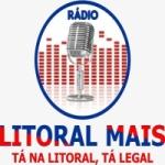 Logo da emissora Rádio Litoral Mais